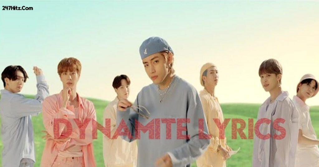 BTS Dynamite Lyrics