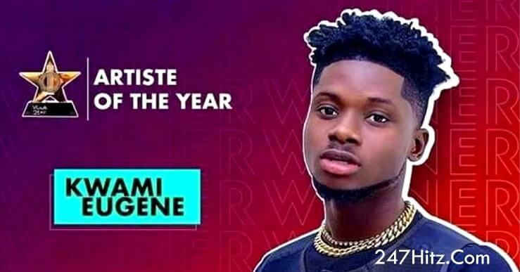 Kuami Eugene Crowned As Artiste of The Year