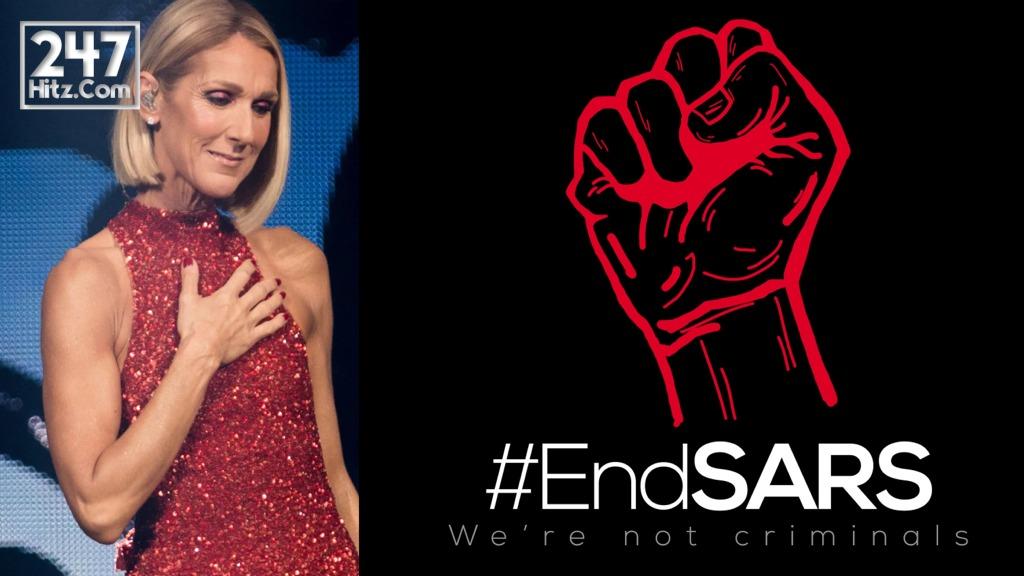 Celine Dion End SARS